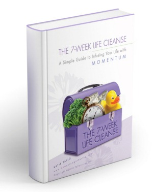 Image of a book with title seven week cleanse