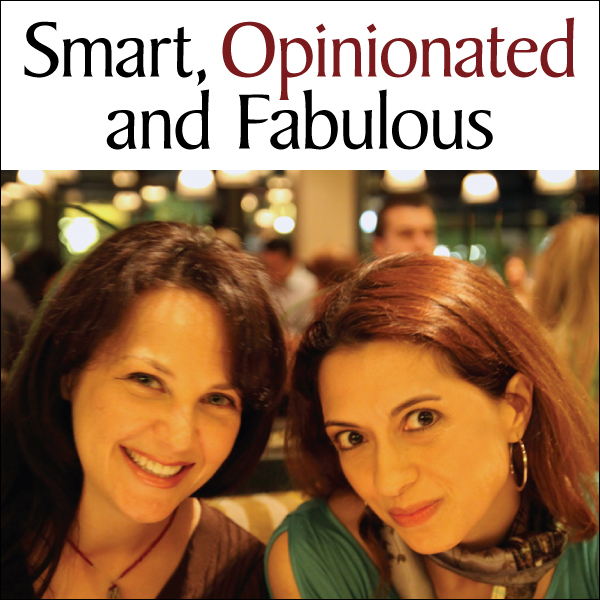 smart opinionated and fabulous podcast logo